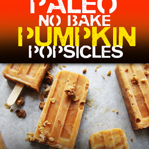 Pumpkin Popsicles