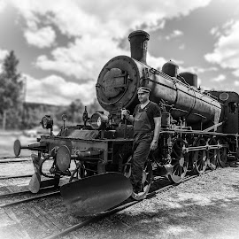 Shfting track by Svein Hurum - Transportation Trains