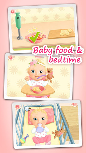 Sweet Baby Girl - Dream House and Play Time