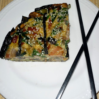 Japanese Inspired quiche...