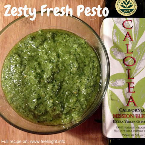 Zesty Fresh Pesto Sauce