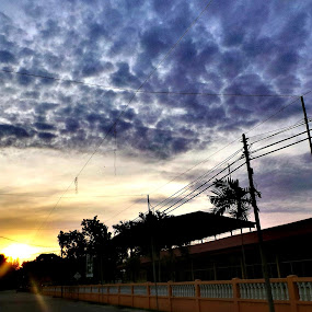 The Sunset. by Nur Huda Diyanah Amir Hamzah - Instagram & Mobile Android