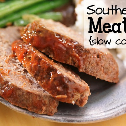 Meatloat {Slow Cooker Style}