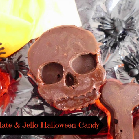 Chocolate & Jello Halloween Candy
