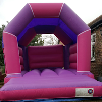 Pink/Purple Castle for Hire in Surbiton and Surrey