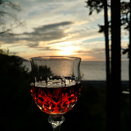 To the sunset by Gene Richardson - Food & Drink Alcohol & Drinks