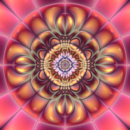 by Cassy 67 - Illustration Abstract & Patterns ( abstract, digital art, harmony, circle, fractal, digital, fractals, energy, flower )