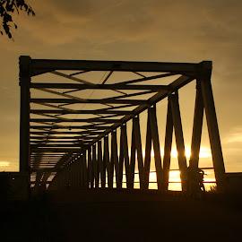 Kartiasa Bridge by Mulawardi Sutanto - Buildings & Architecture Bridges & Suspended Structures ( indonesia, sambas, kartiasa, keren, bridge, travel, indah )