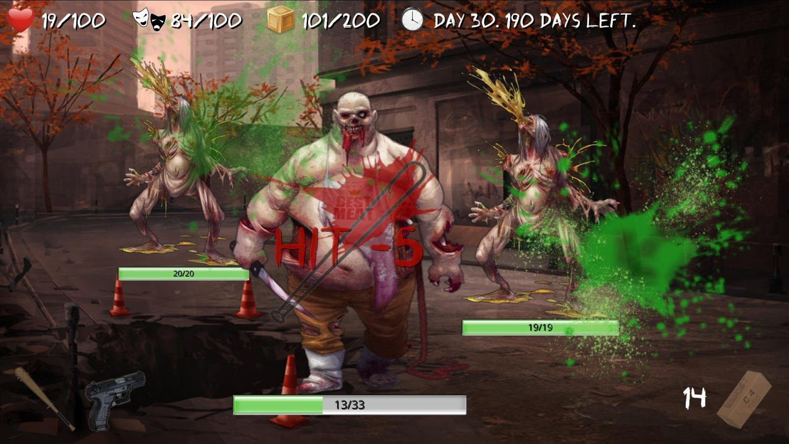 Overlive: Zombie Survival RPG Screenshot 2