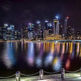 by Mac Evanz - City,  Street & Park  Night