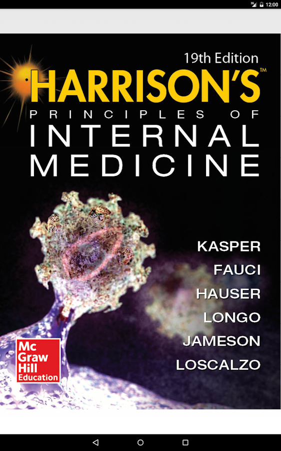 Harrison's Internal Med 19/E Screenshot 8