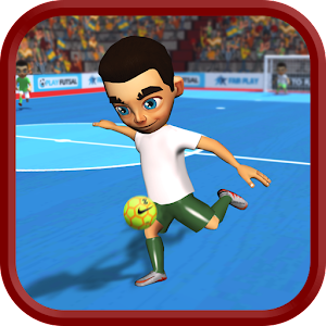 Futsal Indoor Soccer Icon