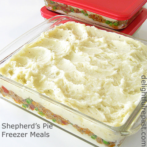 Shepherd's Pie Freezer Meals