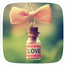 Wishing love bottle