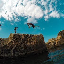 Good Bye Summer by Sufyan Al-Shatshat - Sports & Fitness Swimming ( libya, gopro, sea, summer, goprohero4black )