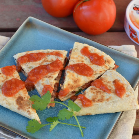 Chipotle Black Bean and Tomato Quesadilla