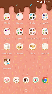 Candy Theme for Air Launcher - screenshot