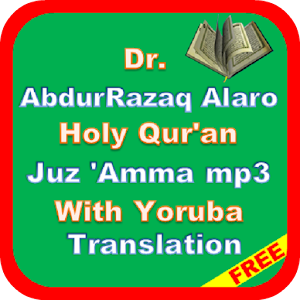 Dr AbdurRazaq Alaro Yoruba MP3 for PC-Windows 7,8,10 and Mac