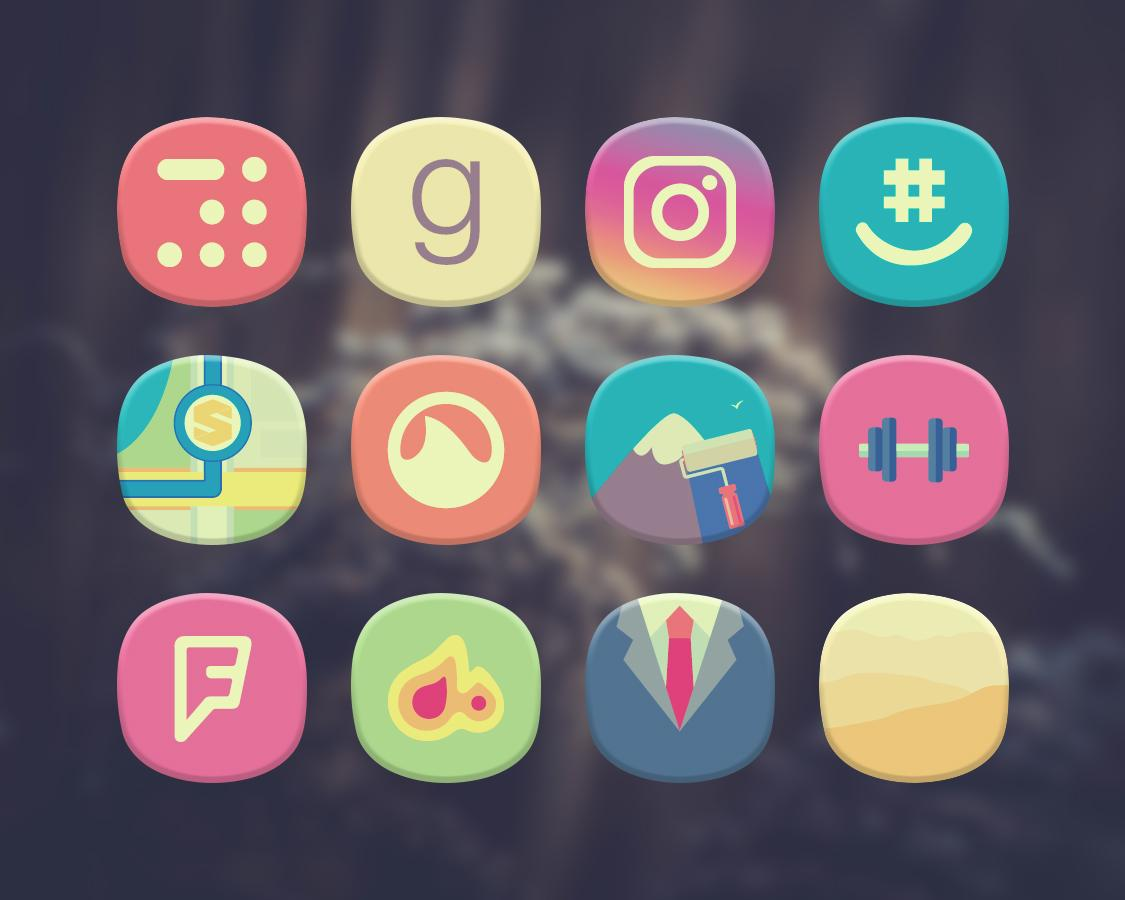 Classique Icon Pack Theme Screenshot 7