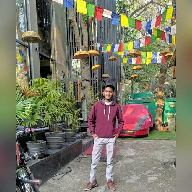 Lokesh Bansal at 736 A.D Cafe & Bar, Vijay Nagar, New Delhi photos