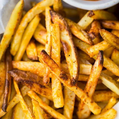 Baked French Fries with Curried Ketchup