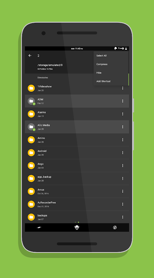 Amaze File Manager Screenshot 1