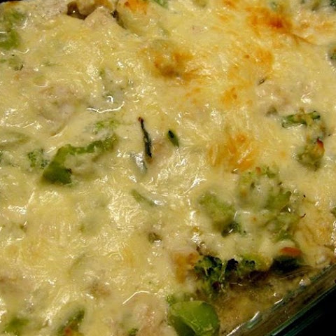 Chicken and Broccoli Cheesy Casserole - Low Carb