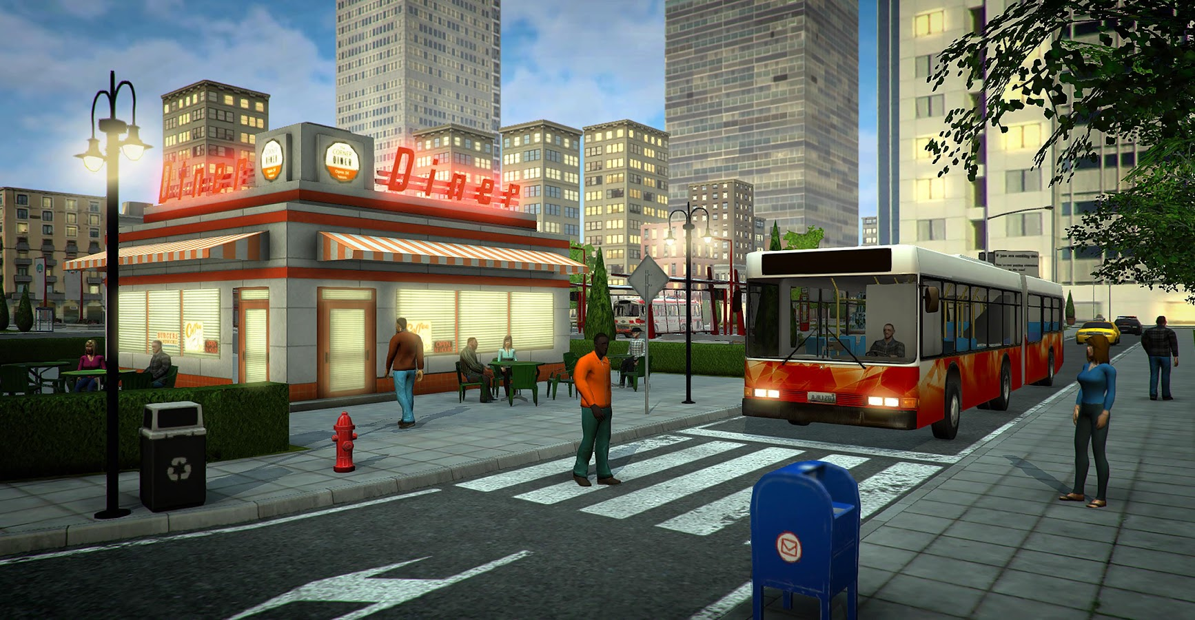 Bus Simulator PRO 2017 Screenshot 14
