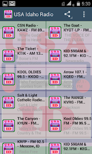 USA Idaho Radio - screenshot