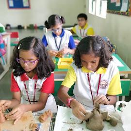 Class room  by Vagdevi Kashyap - Babies & Children Children Candids (  )