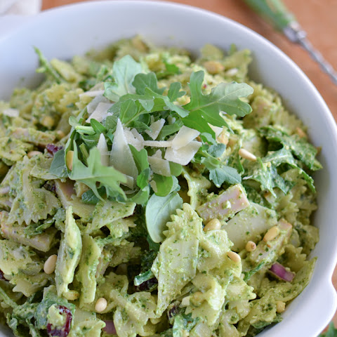 Smoked Turkey Pesto Pasta Salad