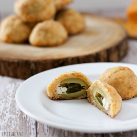 Blue Cheese Jalapeno Cheese Truffles