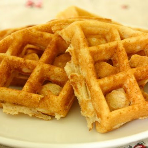 Whole Wheat Corn Waffles
