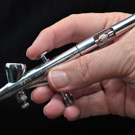 My airbrush by Stephen Crawford - People Body Parts ( hand, airbrush, model making, art, painting,  )