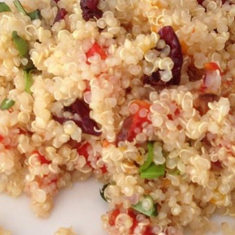 Lemon-Basil Quinoa Salad