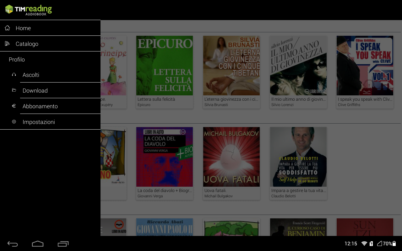 TIMreading Audiobook Screenshot 2