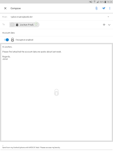 Free Download WEB.DE Mail APK for Samsung