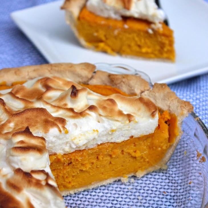 Paleo Sweet Potato Meringue Pie Recipe | Yummly