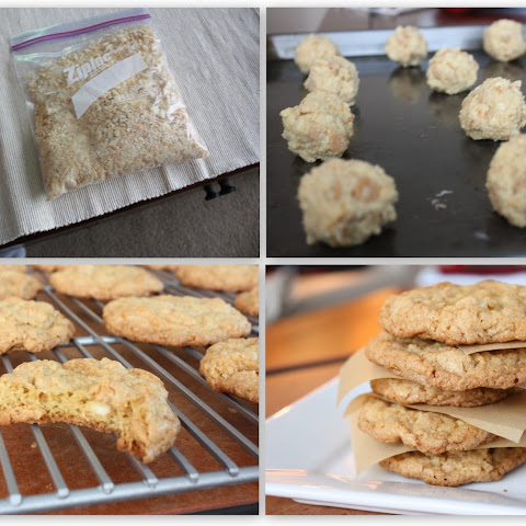 Ritz Cracker Cookies with Peanut Butter Chips