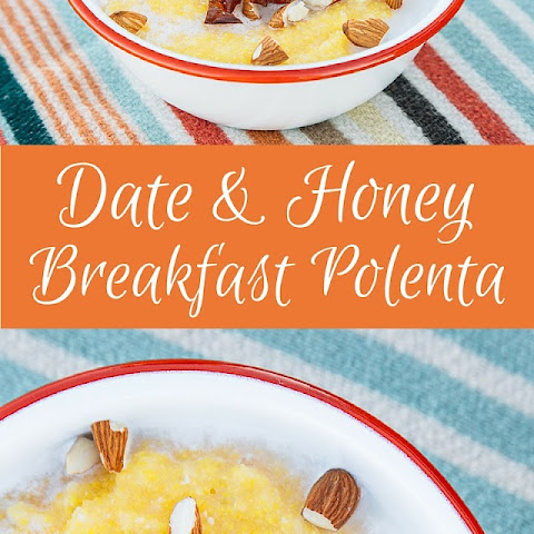 Date and Desert Honey Breakfast Polenta