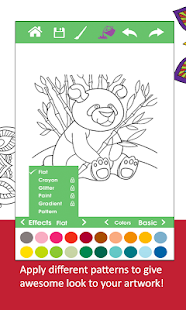 Adult Coloring Book-ColorXmas - screenshot