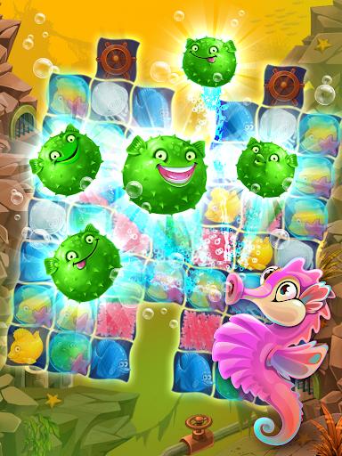 Viber Mermaid Puzzle Match 3 screenshot 14