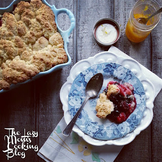 Four Berry Cobbler