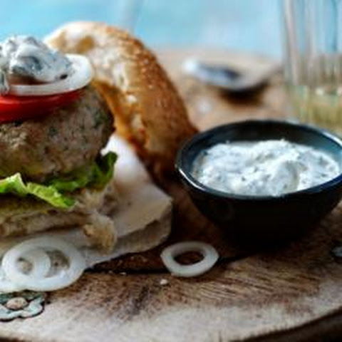 Spiced Lamb Burgers With Herbed Yoghurt
