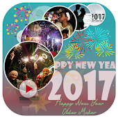 Free Happy New Year Video Maker APK for Windows 8