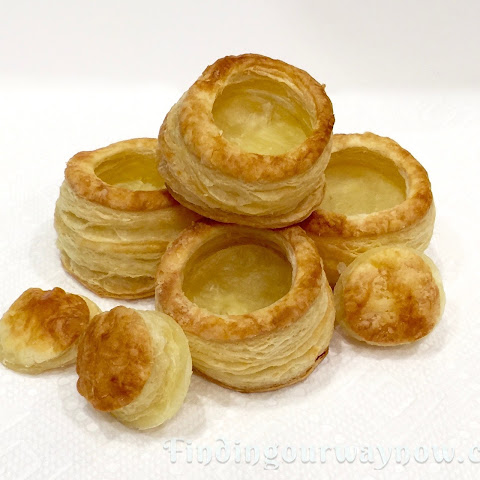 Homemade Puff Pastry Shells