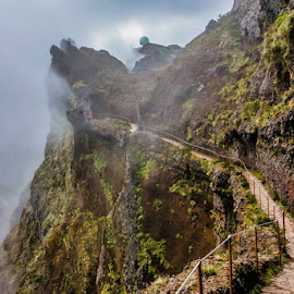 In to the Unknown by Palmi Vilhjalmsson - Landscapes Mountains & Hills ( adventure, pico do arieiro, hiking, pico ruvio, madeira )