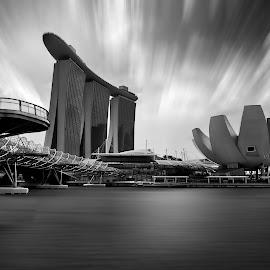 Marina by Max Bowen - Buildings & Architecture Bridges & Suspended Structures