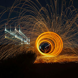 Loop by Indrawan Ekomurtomo - Abstract Fire & Fireworks