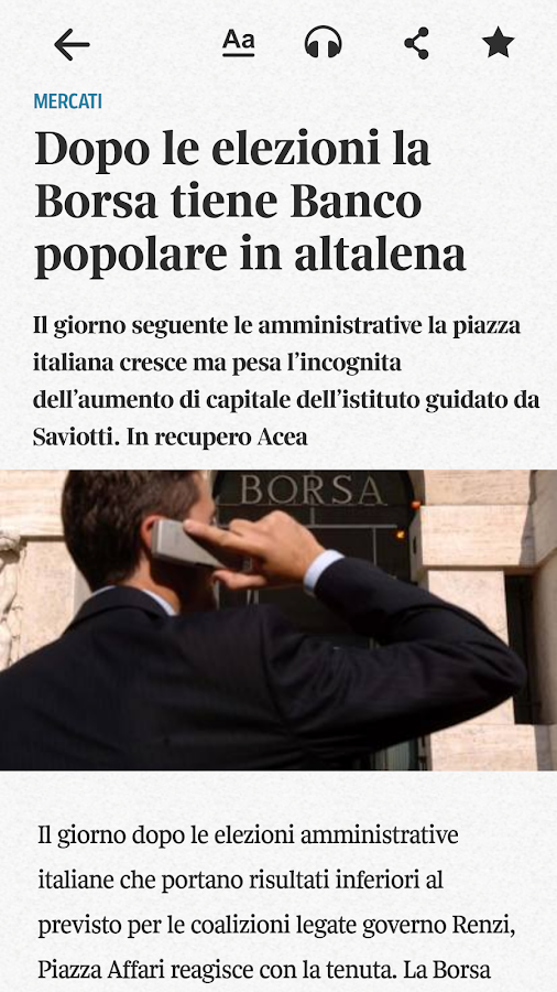 Corriere UP Screenshot 4